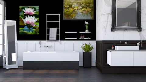 Lily Pond Bathroom - Bathroom - by Vae Riley