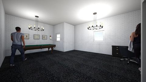 1 - Modern - Living room  - by nahuelpoggi