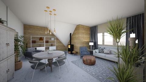 rekreacni chata - Living room  - by Terka90