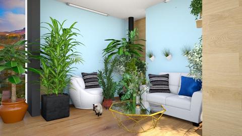 botanic living room - Living room  - by kwiatowa pandzia