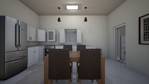 Medium Apartment 02 - Kitchen  - by mspence03