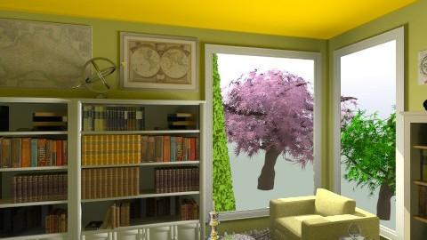Reading corner idea - Modern - Living room - by Mger Sargsyan
