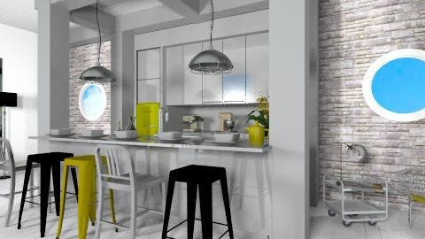 Kitchen - Modern - Kitchen  - by amandafern