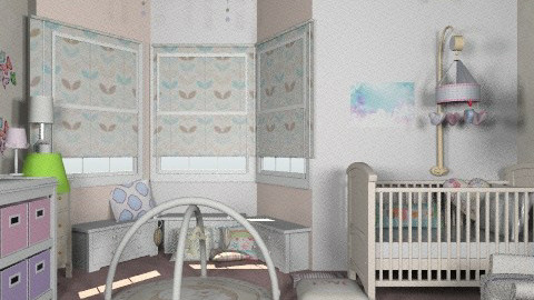 Baby Lilu - Classic - Kids room  - by shelleycanuck