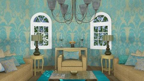 java - Glamour - Living room  - by trees designs
