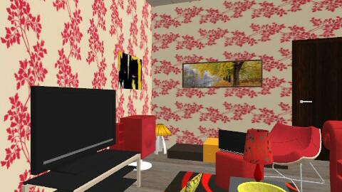 sanja - Retro - Living room  - by luce007sisak