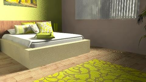 bedroom5 - Rustic - Bedroom  - by srbijanka