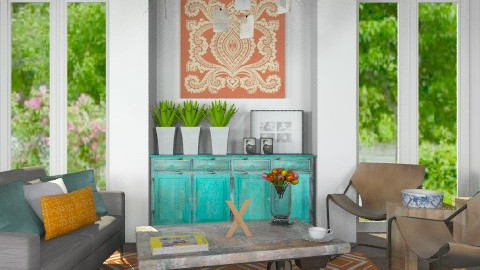 Complementary - Eclectic - Living room  - by Carliam