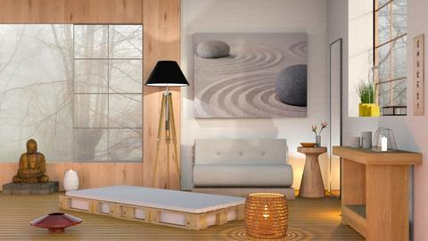 Zen - Minimal - Living room  - by Sally Simpson