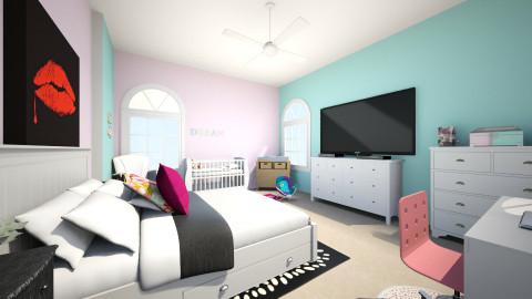 teen mom bedroom - Glamour - Bedroom  - by Kerissa Montgomery