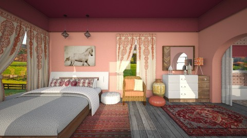 Morocco - Kids room  - by Bianca Biffa Hart