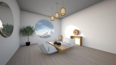 Japan - Minimal - Bedroom  - by Cp0701