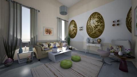 Egg - Modern - Living room  - by Irishrose58