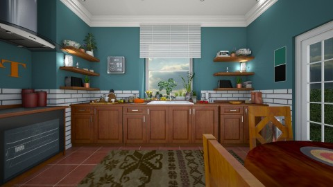 Kitchen - Country - Kitchen - by camilla_saurus