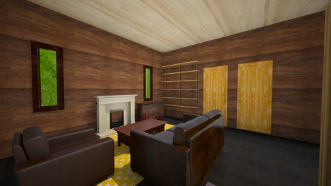 Wooden House - Country - Living room  - by Karan Nagpal