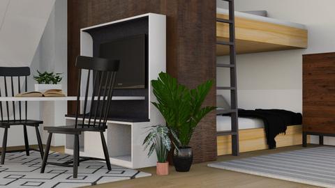 Shared Room - Modern - Bedroom  - by millerfam
