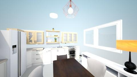 Kitchen - Glamour - Kitchen  - by PantherinaOfLight