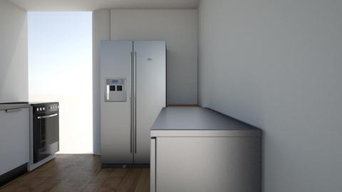 fridge door open 50 in 2 - Eclectic - Kitchen  - by greent thing hates this site