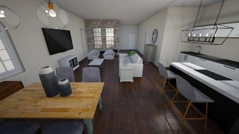 New house - Kitchen - by Niva T