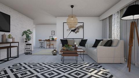 Camila - Living room  - by Claudia Correia