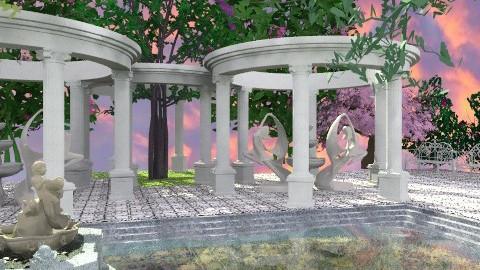 Fountain of Youth - Classic - Garden  - by Bibiche