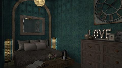 bedroom - Bedroom - by daydreamer84