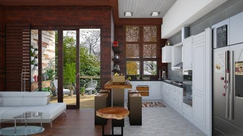 my little kitchen  - Modern - Dining room  - by Ida Dzanovic