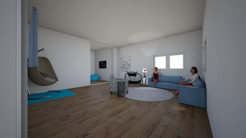 My room - Modern - Bedroom  - by Buttercup123