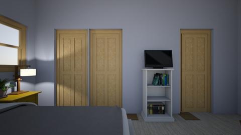 pretty bedroom  - Country - Bedroom  - by 24iverskas