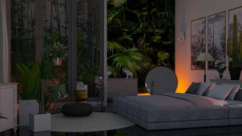 Urban Jungle - Modern - Bedroom  - by Sue Bonstra