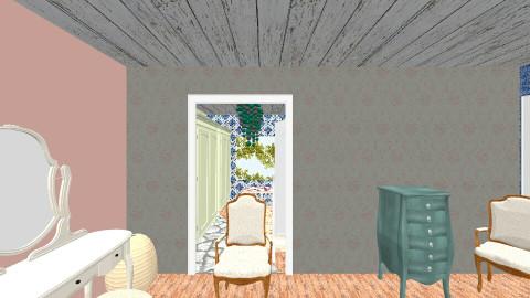elizabeth - Rustic - Bedroom  - by Elizabeth Lincoln