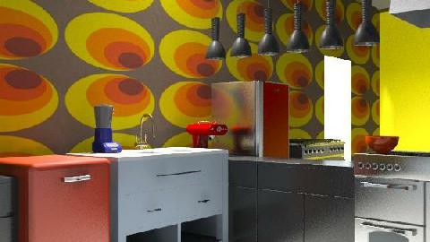 sa - Retro - Kitchen  - by Sofia Flores