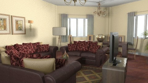 living room - Classic - Living room  - by Aliya Al