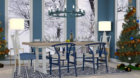 Winter Dining - Dining room  - by millerfam