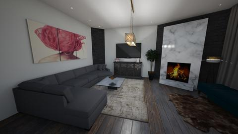 living room - by spyrichandrinou