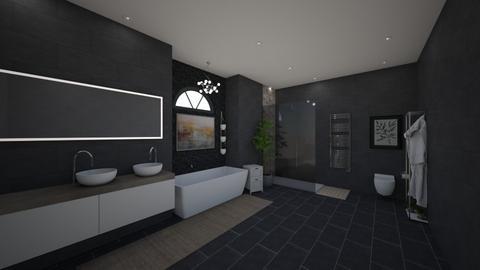 ma salle de bain - Bathroom  - by Ghoonxghost