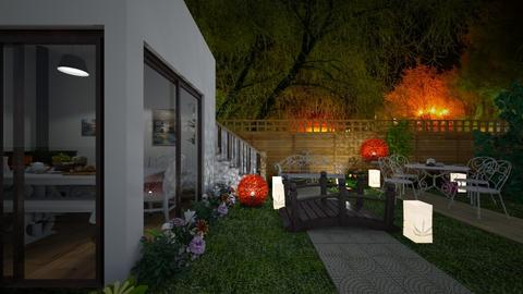 nj - Garden  - by Malithu Damasth