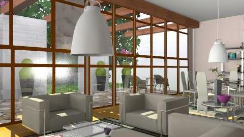 attic 0 - Vintage - Living room  - by gloria marietti