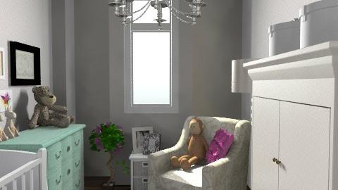 nursery 11 - Eclectic - Kids room  - by dorotapomiankiewicz