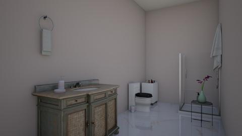 Bathroom - Bathroom  - by RoseGrangerWeasly