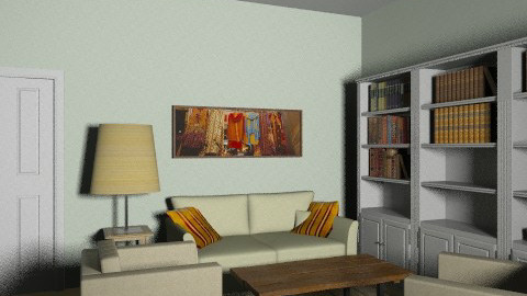 Marsha Warren - Retro - Living room  - by MarshaW