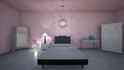 bedroom idk - Kids room - by flufftae