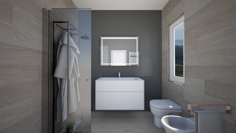 Bagno ipotesi 1a - Bathroom - by natanibelung