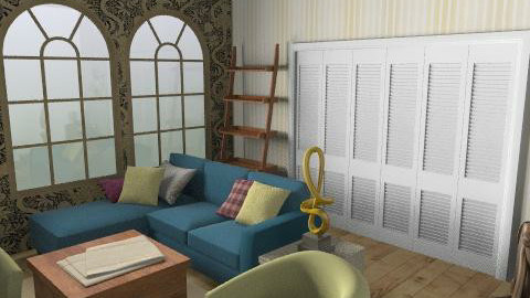 John Lewis - Rustic - Living room  - by mogly