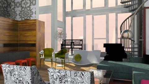 Jlo room  - Glamour - Living room  - by austinajk