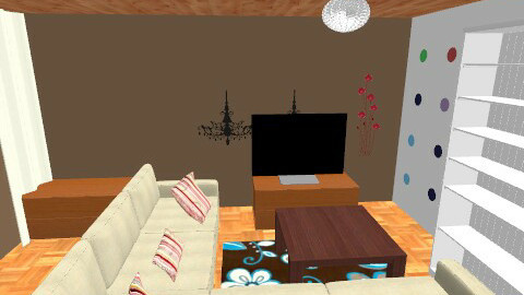 living room umgestylt alte couch - Country - Living room  - by chickenfish