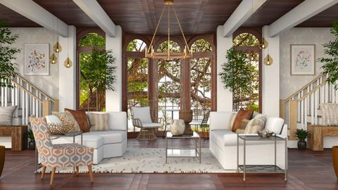 Western Farmhouse - Living room  - by millerfam