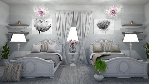 Twins bedroom - Bedroom  - by Alima Aydin