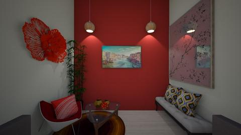 asmita_room - Glamour - Bedroom  - by aayu