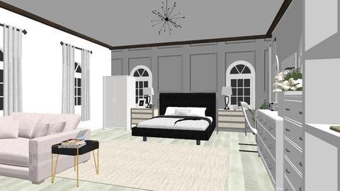 bedroom - Modern - Bedroom  - by Jennifer V